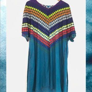 Johny Was 💜 Colorful Silk dress